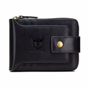 Mens Womens Genuine Leather Wallet